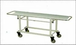 Kraft 402 Stainless Steel Stretcher On Trolley