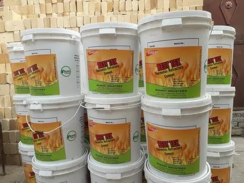 Liquid Thermotex Refractory Cement, Packaging Size: 40 Kg