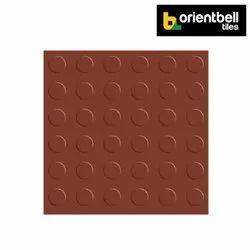 Orientbell Tiles Matte Orientbell Coin Terracotta (17403) Paver Tiles, Size: 300X300 mm