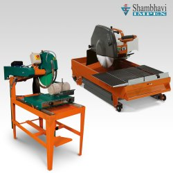 Shambhavi Rock Cutting Machine - (CCM-01), Cutting Disc Size (inch): 8 inch
