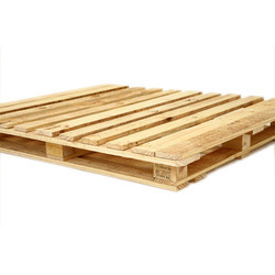 Four Way Double Deck Wooden Pallet
