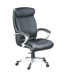 Black Leatherette Trends High Back Executive Chair