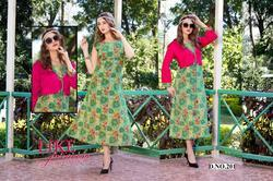 Surya Fab Splash Series 201-210 Stylish Party Wear Rayon Kurti