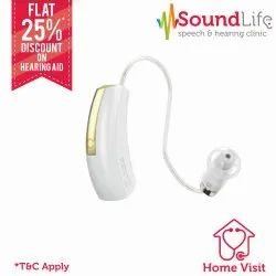 Widex Unique Passion 440 RIC BTE Hearing Aid