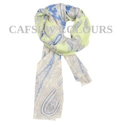 Stylish Printed Wool Scarves