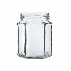 250 ml hexa glass jar