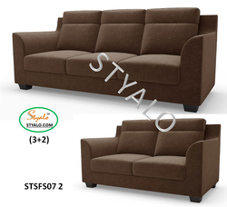 Premium Polyfill STYALO 5 Seater Sofa Set (3 2) With Free Delivery &amp Installation., Warranty: 5 Year