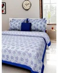 Ganpati Handicrafts Printed Double Bedsheet