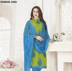 Green Fancy Salwar Suit