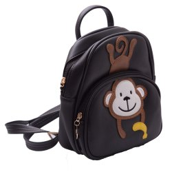 Kidofash Monkey Embroidery Fashion Back Pack