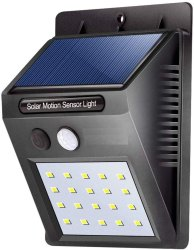 LED Solar Sensor Light