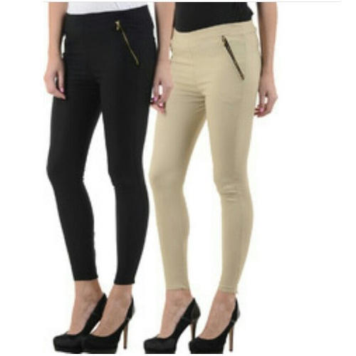 b37487420a6cf Black And Skin Colour Plain Ladies Jegging, Rs 260 /piece | ID ...
