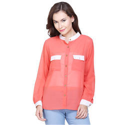 Red Surplus Ladies Shirt