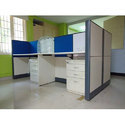 Plywood Office Cubicle