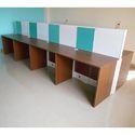 Straight Desk Workstation
