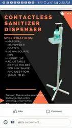 contactless sanitizer dispencer