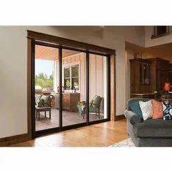 Modern UPVC Glass Sliding Door, For Home