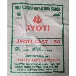 50% AL High Alumina Refractory Binder Cement