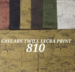 Cavalary Twill Lycra Mens Shirt Fabric