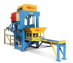 Stationery Type Automatic Hollow Block Machine