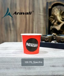 Aravali Printed 100ml Paper cup, For Event and Party Supplies