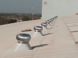 Aluminum Non Power Driven Roof Top Ventilator