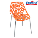 Sparkle Orange Chair