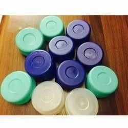 Round Plastic Bubble Top Cap, Packaging Type: Bag
