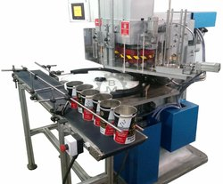 Double Head Fully Automatic Round Can Seamer