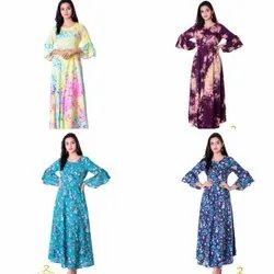 Women Printed Cotton Formal Kurta