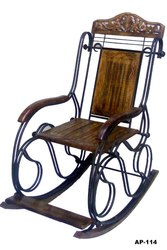 Wrought Iron Rocking Chair