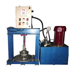 Hydraulic Single Die Paper Thali Making Machine
