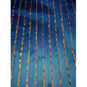 Blue Designer Polyester Fabric