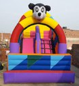 Two Lane Mickey Bouncy Castle