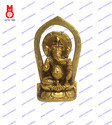 Lord Ganesh Sitting On Double Ring Statue
