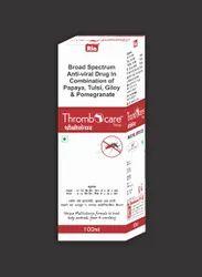 Anti-Viral Drug in Combination of Papaya 200mg, Tulsi 100mg, Giloy 100mg, Pomegranate 100mg