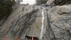 Rockfall Safety Net