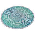 Mandala Ombre Beach Towel