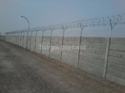 Industrial Boundary Wall