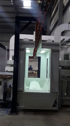 Multi Cyclone Powder Coating Booth