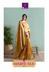 Shangrila Vasansi Silk Vol-2 Designer Silk Saree Catalog Collection At Textile Mall