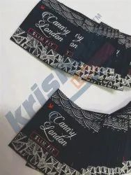 Polyester woven label