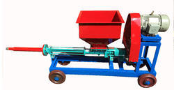 Screwed Cement Slurry Grout Pump