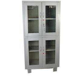 Glass Door Almirah, Size: 66 x 19 x 33 Inch