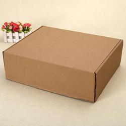 Brown Rectangular Corrugated Shipping Boxes