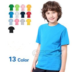 Premium Cotton Kids Round Neck T-shirts