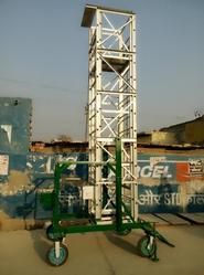 Aluminium Square Type Tiltable Tower Ladder