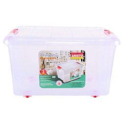 Aristo Plastic Container With Wheel
