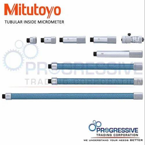 Upto 3000mm Analog Mitutoyo Tubular Inside Micrometer, Model Name/Number: 137 Series