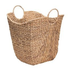 Round Deep Wicker Basket